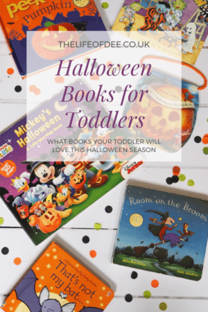 Halloween Books for Toddlers | #books that your #toddler will love this #halloween season.