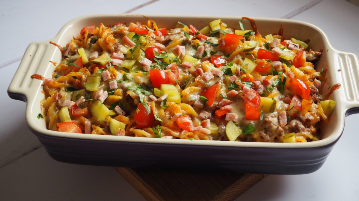 Cheeseburger Pasta | Slimming World Sunday A delicious meal ready in 40 minutes