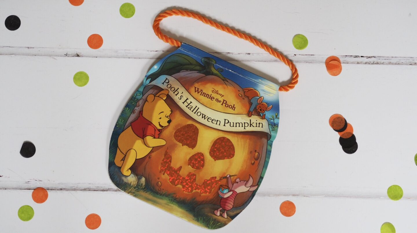 Pooh's Halloween Pumpkin Book | Halloween Books for Toddlers