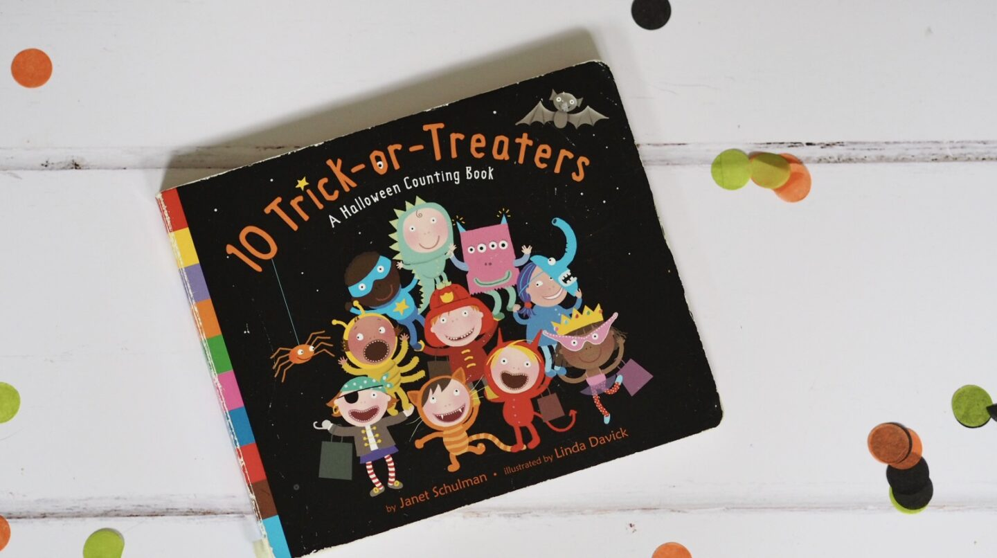 10 Trick or Treaters Halloween Book for Toddlers
