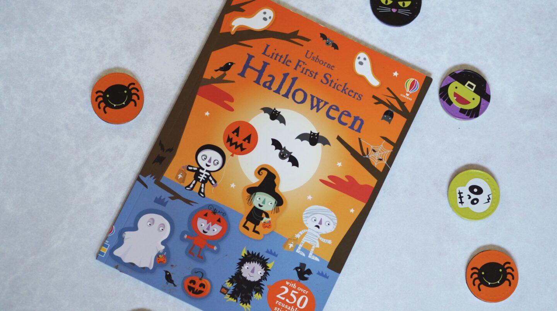 Toddler's Halloween Basket | Halloween Sticker Book Usborne