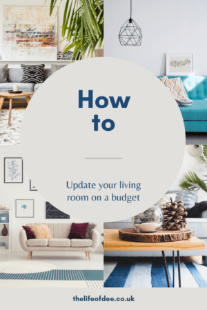 How To Update Your Living Room On A Budget | How to revamp your living room cheaply #livingroom #update #lounge # sitting #room
