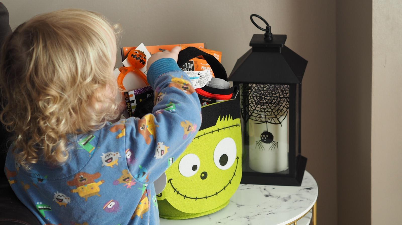 Toddler's Halloween Basket 2020