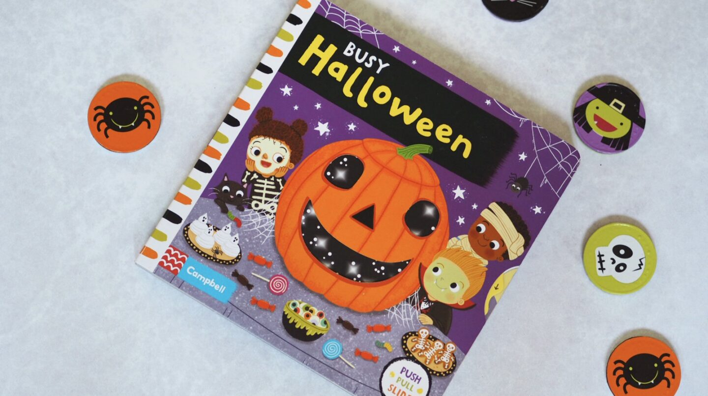 Busy Halloween Toddler Book