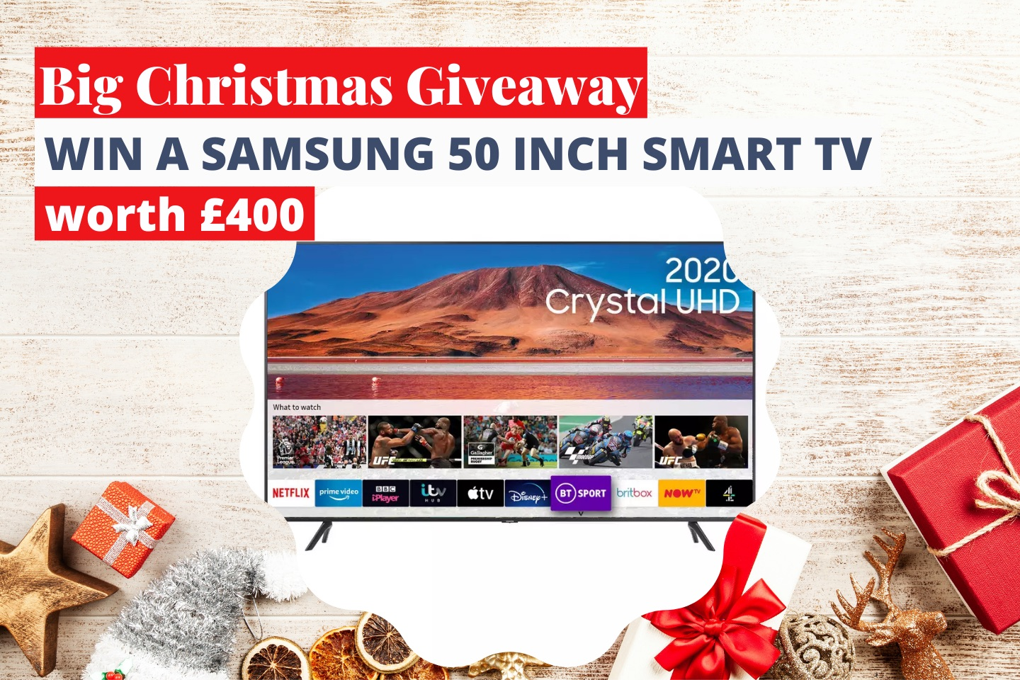 Big Christmas Giveaway | Win a