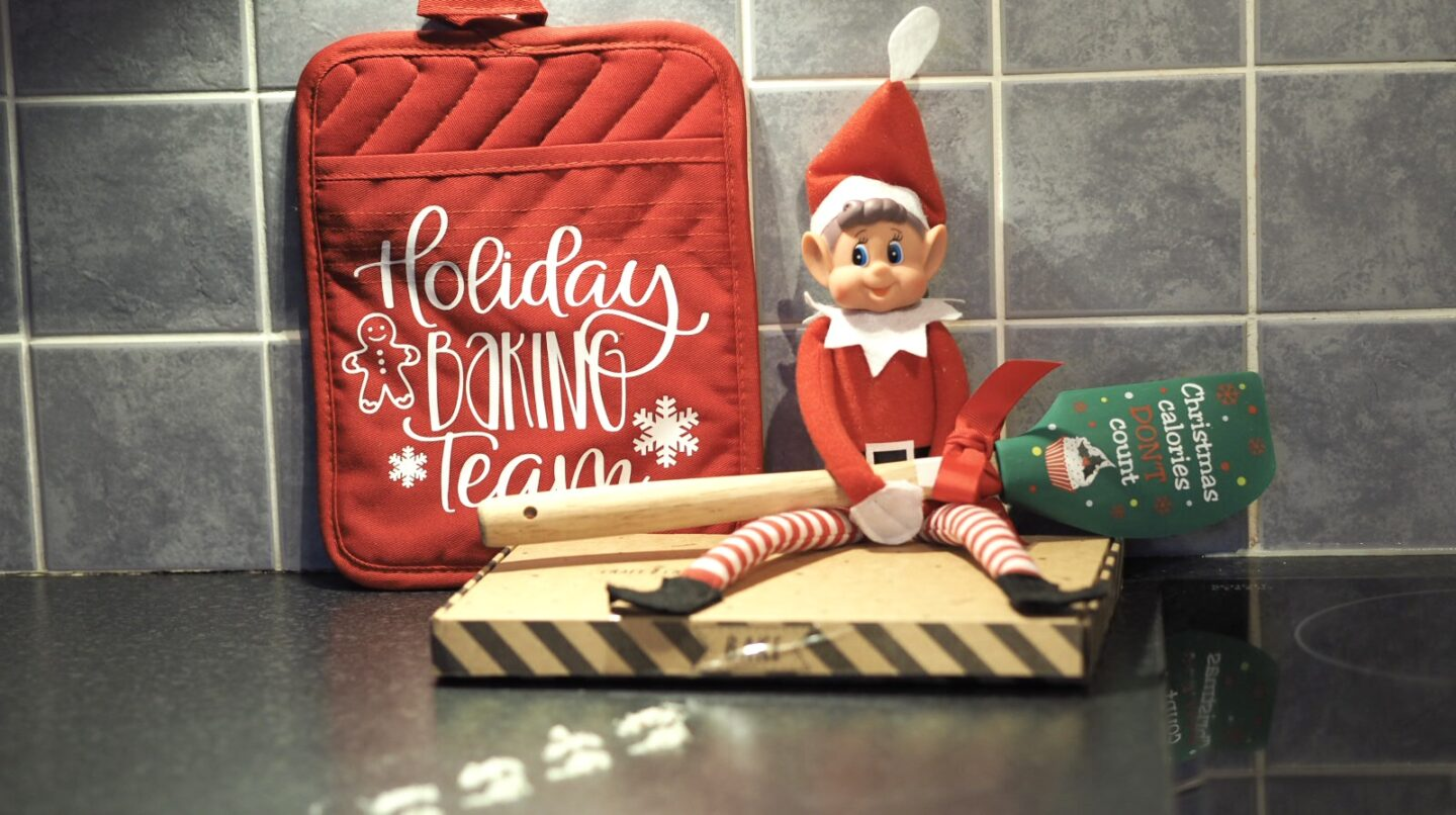 Elf on the Shelf Ideas for Toddlers | Baking