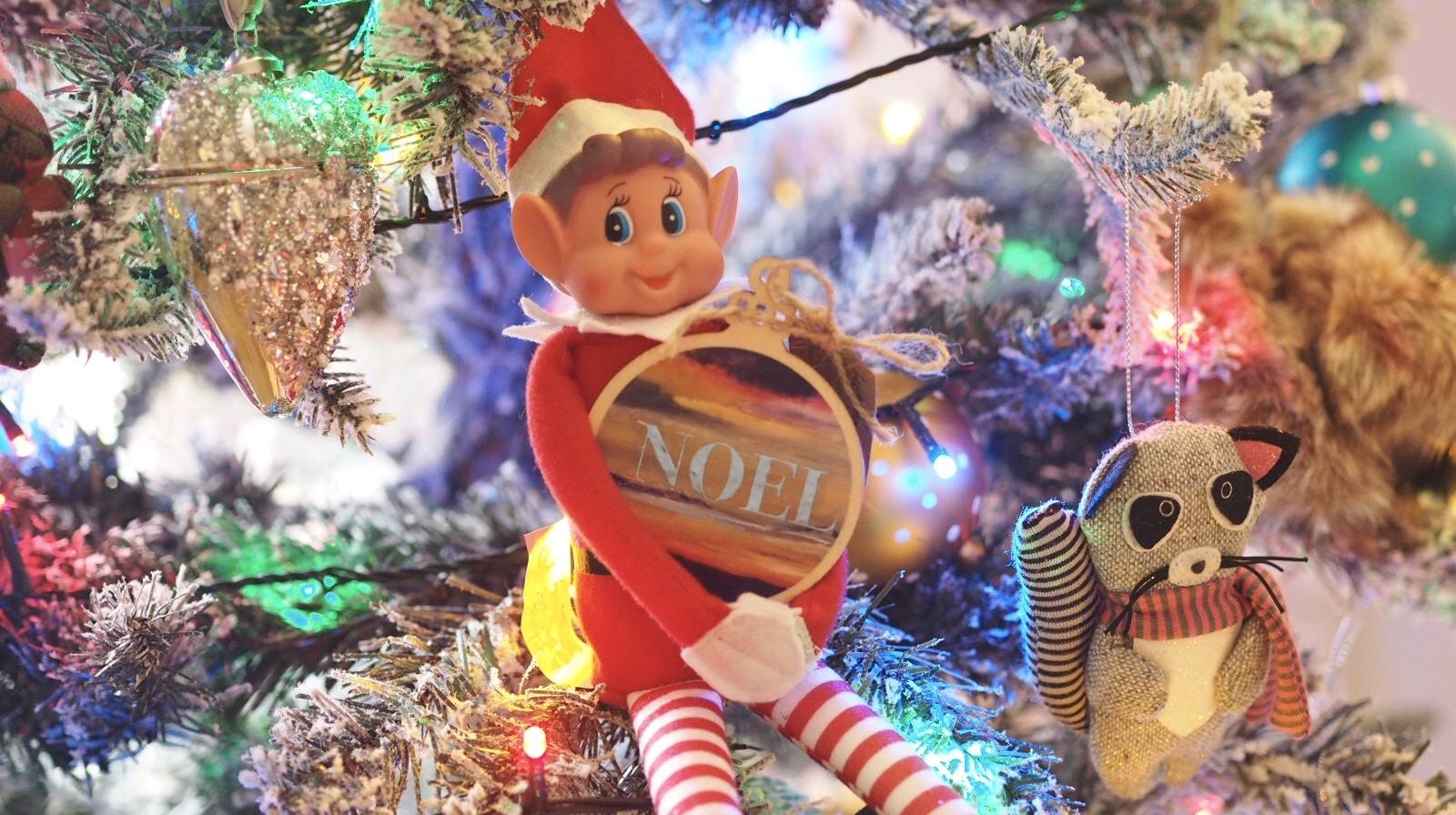 Making Christmas decorations | elf on the Shelf ideas