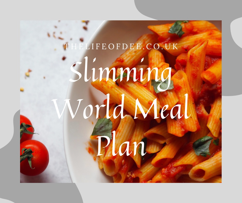 Slimming World Meal Plan 4th January | Whether you are new to Slimming World or trying to get back on track hopefully this Slimming World meal plan will help give you some ideas.