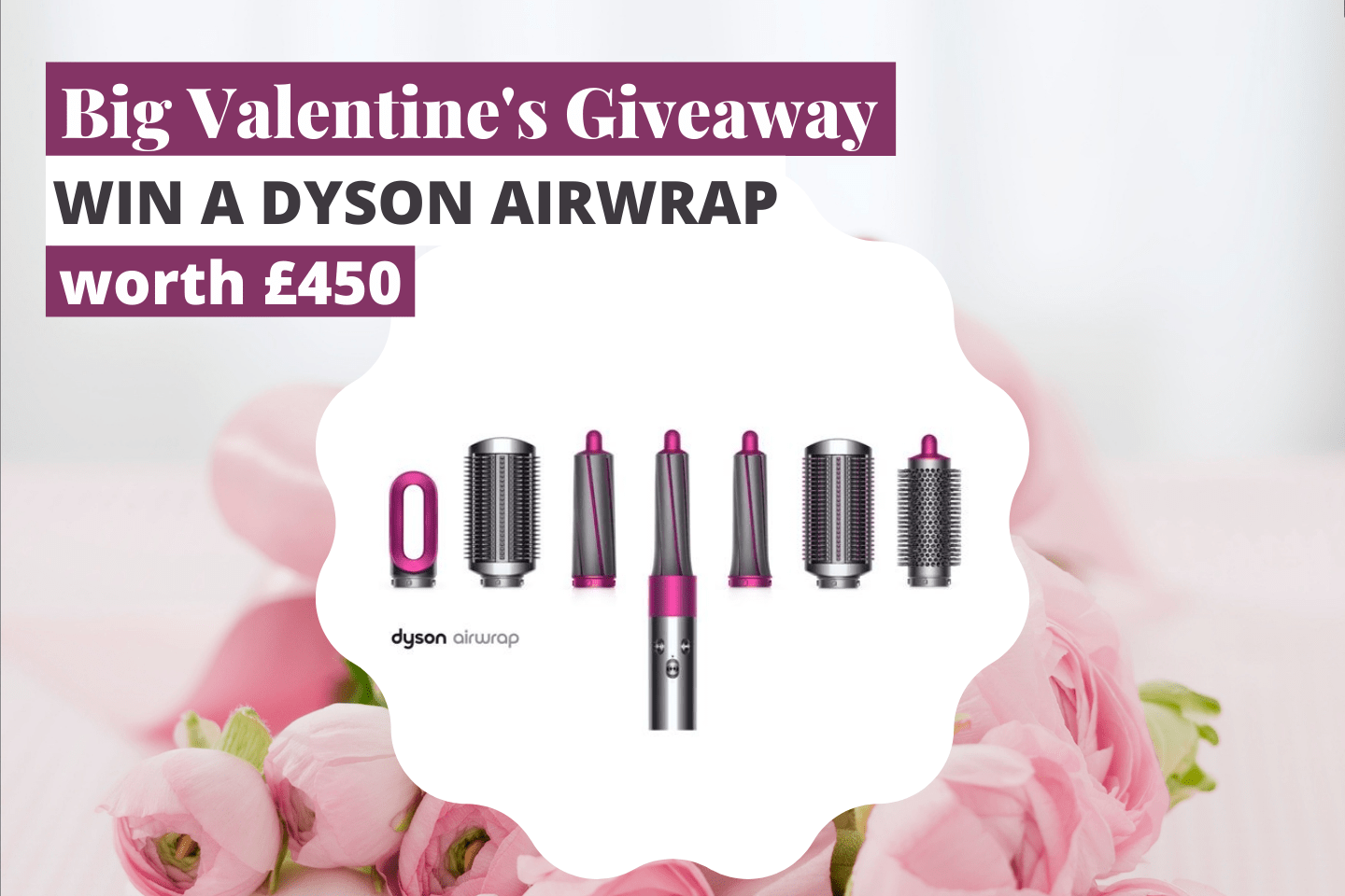 Win a Dyson Airwrap | Enter this fantastic giveaway to win this amazing Dyson Airwrap