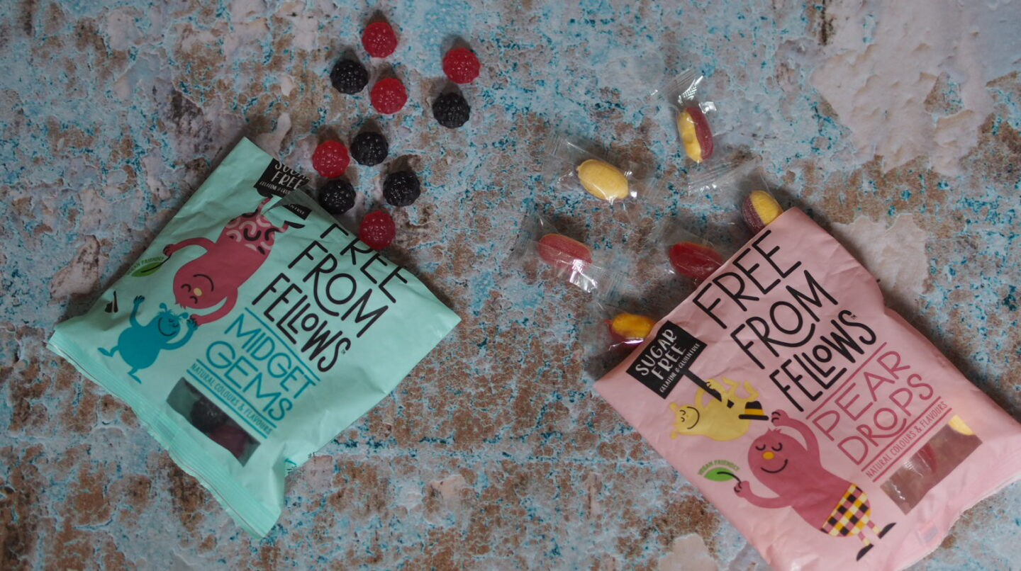 Free From Fellows Review | Midget Gems & Pear Drops