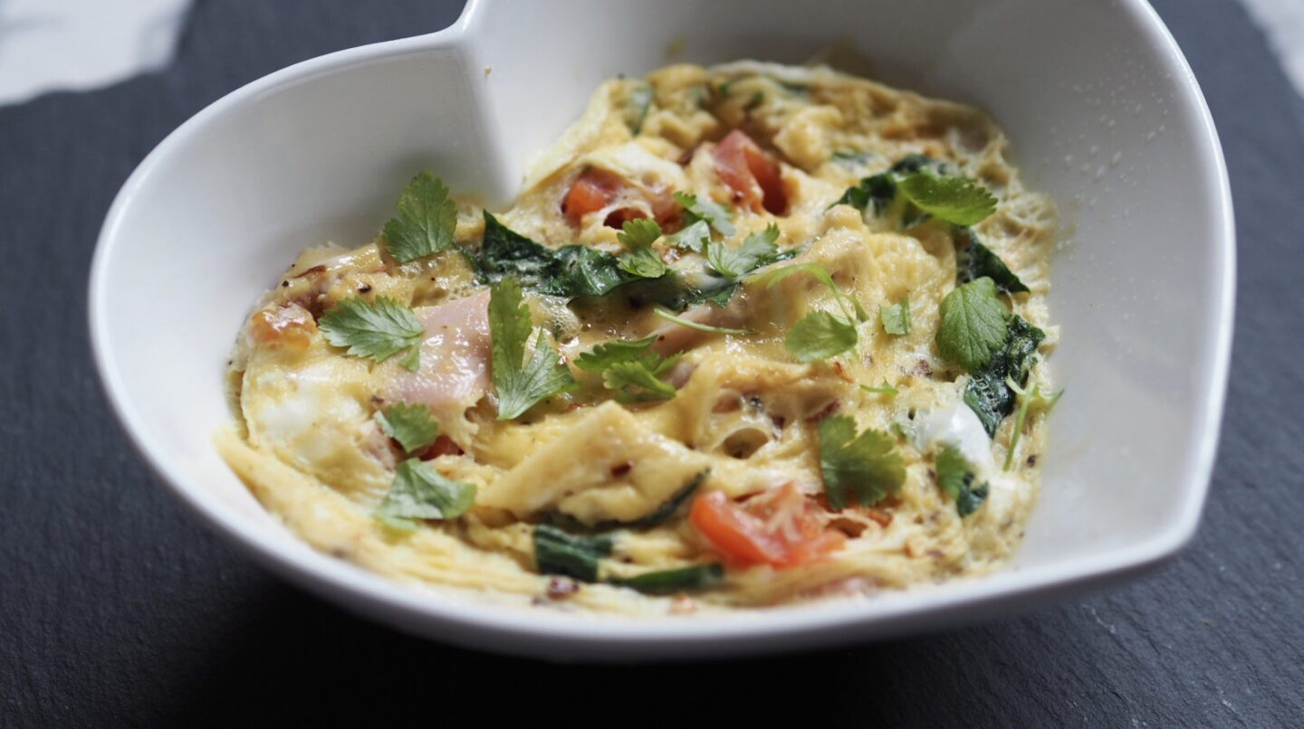 Omelette in a Bowl | Slimming World Sunday | Quick breakfast ideas ready in 2 minutes