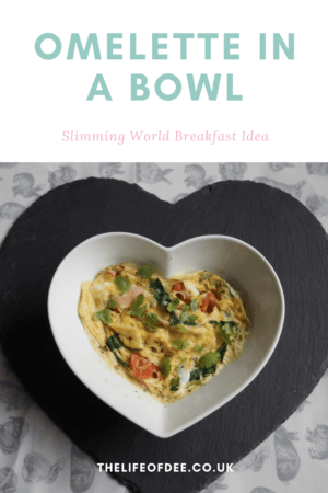 Omelette in a Bowl | Slimming World Sunday | #syn #free #breakfast #ideas #two #minutes