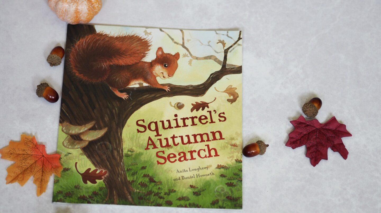 Squirrel's Autumn Search Book