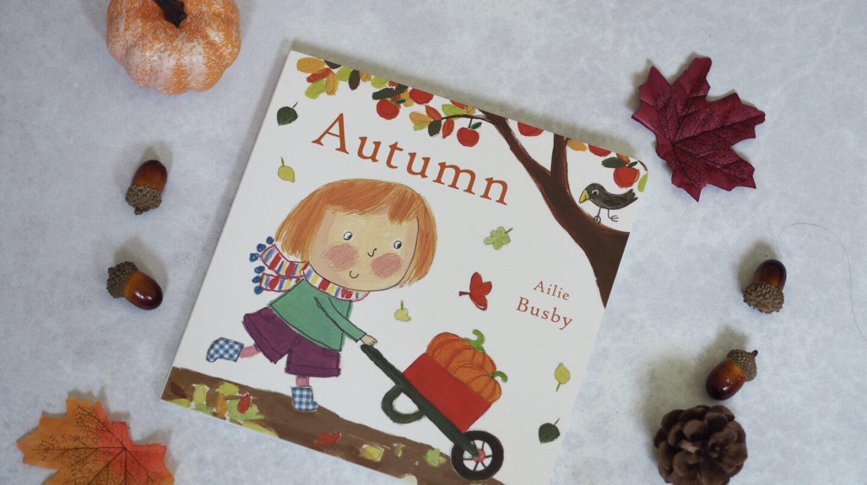 Autumn children's book by Ailie Busbie