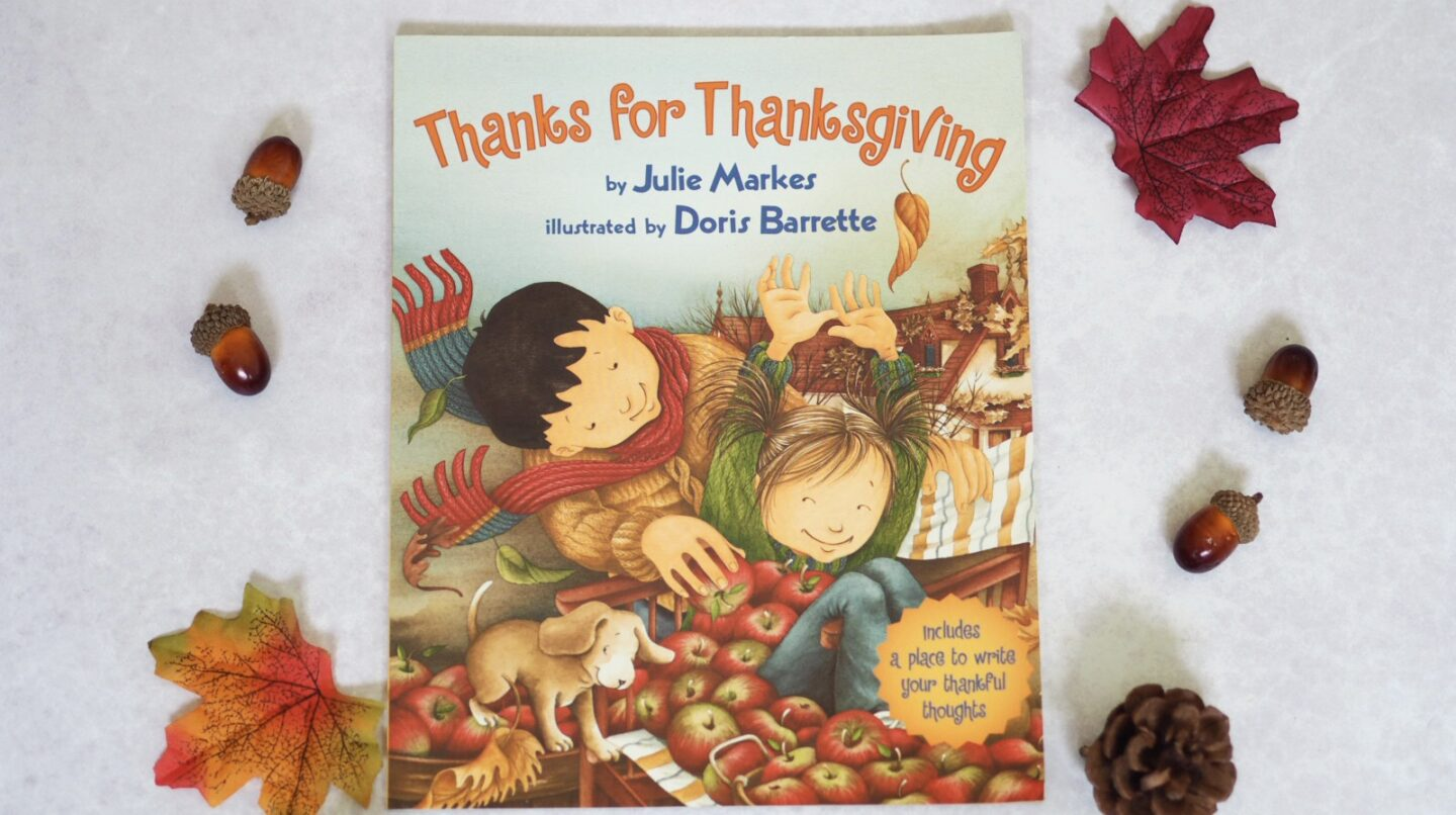 Thanks for Thanksgiving Fall book